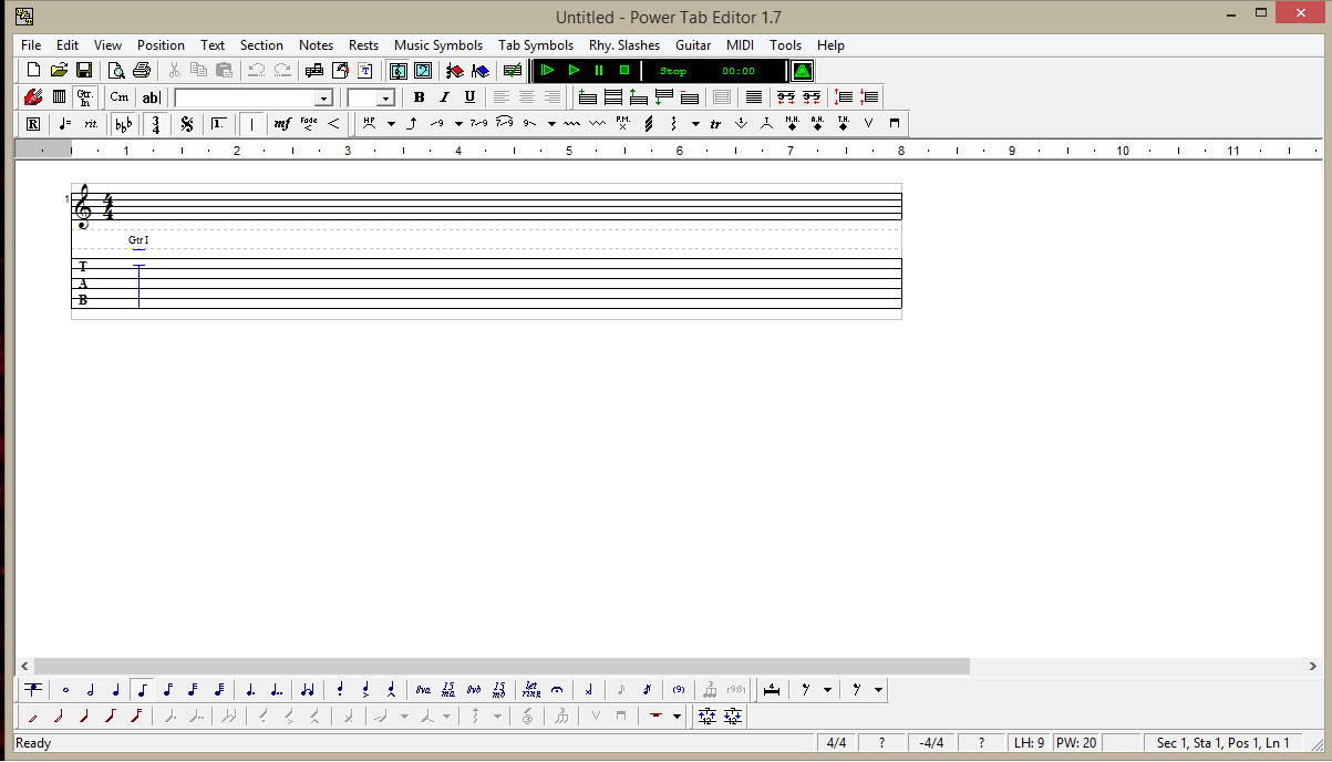 Power Tab Editor 1 7 Review   Malaker